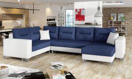 Corner sofa bed Fidel-blue-right
