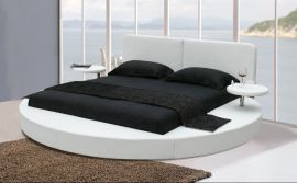 Pyöreä Sänky Dream Lux 160-180 valkoinen