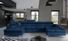 Corner sofa Foster-blue-right