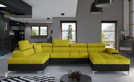Corner sofa Foster-yellow-right