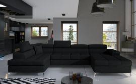 Corner sofa Foster-black-right