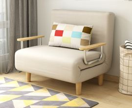 Foldable Bed Elmer-beige