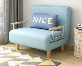 Foldable Bed Elmer-blue