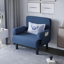 Foldable Bed Elton-blue