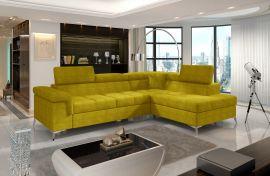 Corner sofa bed Fletcher -yellow-right