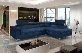Corner sofa bed Fletcher -blue-right