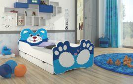 Children bed Bear-blue-160x80cm