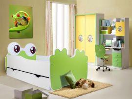 Children bed Bear-green-140x70cm