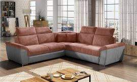 Corner sofa bed Gideon-pink