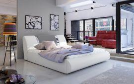 Bed Freya with storage 160-180-white-grey-160x200cm