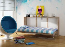 Murphy bed Franny 90x200cm-oak
