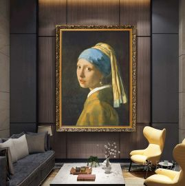 Seinätaulu Girl with a Pearl Earring