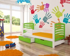 Children bed Graciella 180x75-green