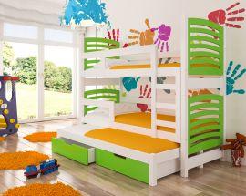 Children bed Narissa-green