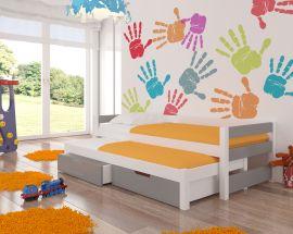 Children bed Flynn-grey