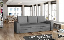 Sofa bed Lilac-dark-grey
