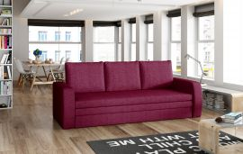 Sofa bed Lilac-red
