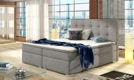 Boxspring bed Melinda -light grey-160x200cm