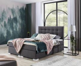 Boxspring bed Melinda -dark-grey-160x200cm