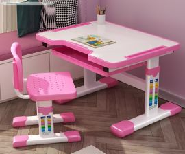 Lasten työpöytä ja tuolisettia Kayli