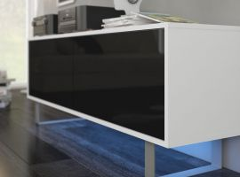 TV-set Foxtail-black-white