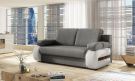 Sofa bed Olive-white-grey