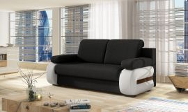 Sofa bed Olive-black-white