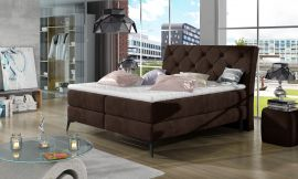 Boxspring bed Trudy -brown-160x200cm
