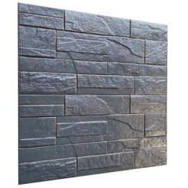 Itseliimautuva 3d-seinäpaneeli Landon, 60x60cm -10 kpl/pak