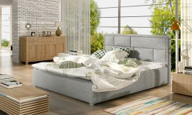 Bed Baxter light grey-160x200cm