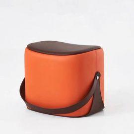 Pouf Latashia-orange