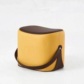 Pouf Latashia-yellow
