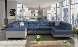Corner sofa bed Inigo-blue-right