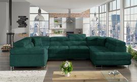 Corner sofa bed Inigo-green-right