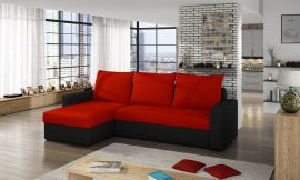 Corner sofa bed Jared-red