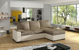 Corner sofa bed Jason-light brown