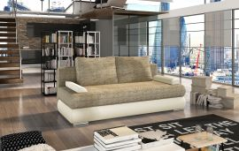 Sofa bed Siri-beige-brown