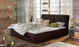 Bed Carlisle dark brown-160x200cm