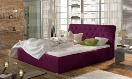 Bed Carlisle purple-160x200cm