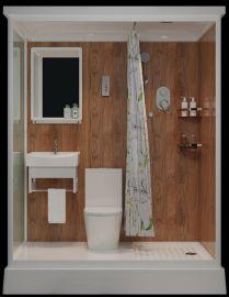 Esivalmistettu kylpyhuone Misty