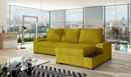 Corner sofa bed Romeo-yellow-right