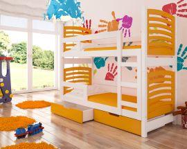 Children bed Marian-orange