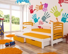 Children bed Malucia -orange
