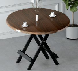 Dining table Oswald-brown