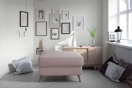 Pouf Jazzie-light pink