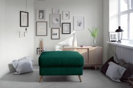 Pouf Jazzie-dark green