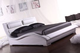 Bed Boston Lux 160-180-160x200cm-white