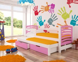 Children bed Malucia -pink
