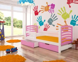 Children bed Graciella 180x75-pink