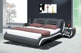 Sänky Prato Lux 160-180 musta-valkoinen